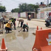 Continúan mejorando servicios municipales en Xoxocotlán