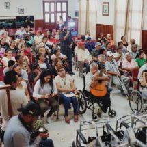 Cambia DIF Cosamaloapan vidas con aparatos funcionales