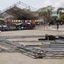 Trabajadores desconfían del edil de Salina Cruz