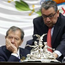 "Muñoz Ledo llama ""hocicón"" a Donald Trump"