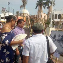 Inauguran exposición de pinturas realizadas por alumnos de la casa de cultura de Cosamaloapan