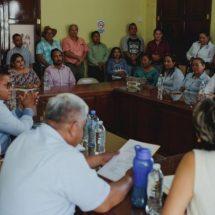 """Gobierno municipal de Cosamaloapan promueve curso de """"Lengua Chinanteca"""" a personal del Juzgado Civil de lo Menor"""