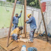Gobierno de Tuxtepec rehabilita pozo Lomas Altas; beneficia a más de 300 familias