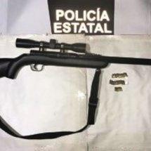 EN LA COSTA: UN DETENIDO Y DOS ARMAS DE FUEGO ASEGURADAS POR LA POLICÍA ESTATAL
