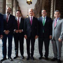 Gobernadores priistas respaldan a López Obrador en la relación con EU