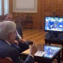 AMLO dialoga con Zuckerberg por videoconferencia