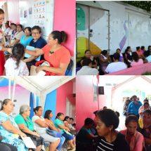 Para prevenir cáncer de mama… María Luisa Vallejo García une fuerzas  con 300 mujeres de diversos municipios
