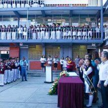 Felicita IEEPO a Escuela Secundaria Técnica no. 1 por su 85 Aniversario