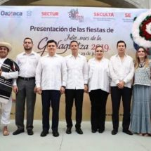 """Realiza Alejandro Murat presentación de las fiestas de """"Julio, mes de la Guelaguetza 2019"""""""