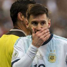 SON INACEPTABLES LAS ACUSACIONES DE MESSI: CONMEBOL