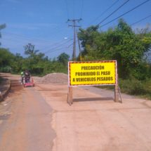 Gobierno de Tuxtepec inicia rehabilitación del camino a Loma Alta