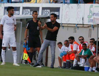 Xavi se estrena como entrenador con empate en un amistoso en Palamós