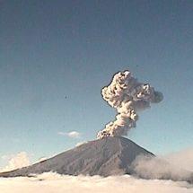 Popocatépetl registra explosión; cae ceniza en estos municipios