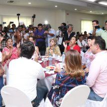 El compromiso es por Tuxtepec y por Oaxaca, Dávila a  Senador Bolaños