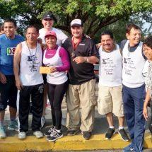 Celebran la carrera atlética del abogado en Tuxtepec