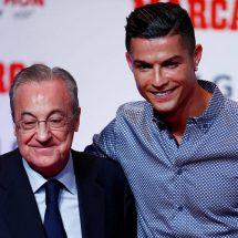 Florentino Pérez comentó sobre su encuentro con Cristiano Ronaldo