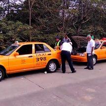 Baja ocupación de taxis en la ciudad