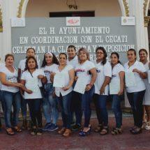 Concluye ayuntamiento de Cosamaloapan y Cecati 159 curso de impresión de artículos publicitarios.