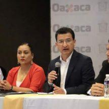 Coordina esfuerzos Gobierno de Oaxaca para garantizar la seguridad