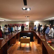 Dávila concreta gestión de 11.9 mdp para modernización del camino El Acuyo-Las Margaritas