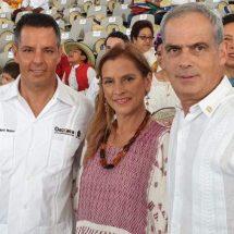 Embajador de Israel en México asiste a la Guelaguetza en Oaxaca