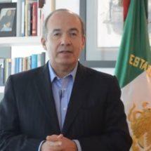 Calderón niega estar detrás de protestas de policías federales