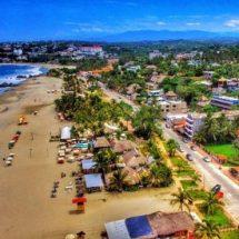 Gente bonita y surfistas de todo el mundo aman la playa de moda: Zicatela
