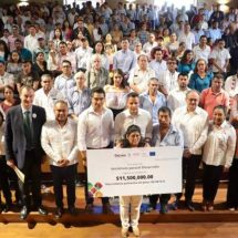Gobierno de Oaxaca y la Unión Europea entregan 11.5 mdp a 30 iniciativas con vocación productiva