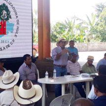 BYCHOSA gestiona apoyos a favor de productores de hule