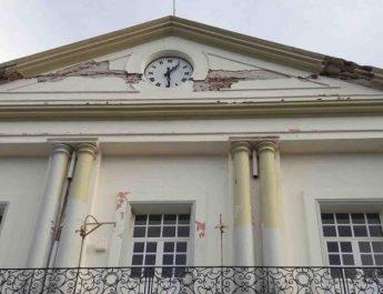 «Olvidan» reparar palacio de Tehuantepec