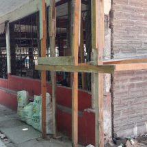 Olvidan reconstrucción de mercado tehuano