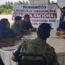 Arriba la Guardia Nacional a Juchitán