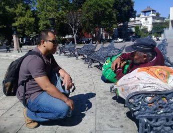 DIF Municipal de Oaxaca de Juárez avanza en censo para personas en situación de calle