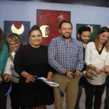 Inauguran corredor de arte en el aeropuerto internacional de Oaxaca