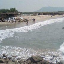 Muere el turismo en bahía La Ventosa