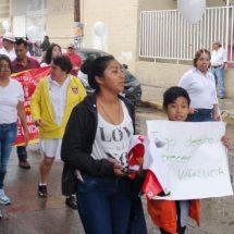 Marchan contra la inseguridad en Tlacolula… y hay un baleado