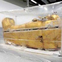 Exhibirán sarcófago del rey Tutankamón en Egípto