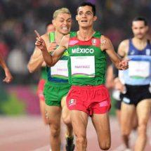 ¡Oro 22 para México! Fernando Martínez se impone en los 5,000 m.