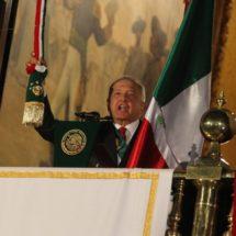 El austero primer 'Grito' de López Obrador