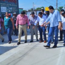 Dávila abre a la circulación la calle Ocampo