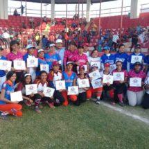 Impulsa Gobierno de Tuxtepec el Softbol Femenil