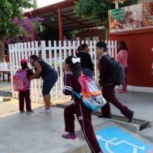 Las actividades escolares nunca han estado en riesgo en Tuxtepec: Campa