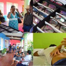 En Tuxtepec… Brinda el DIF 500 atenciones a través de campañas de salud visual y ozonoterapia