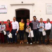Contribuye LICONSA y DIF Xoxocotlán al bienestar de niñas y niños