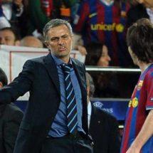 """José Mourinho: """"Lionel Messi me ha hecho mejor entrenador"""""""