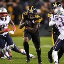 El récord histórico entre Steelers y Patriots