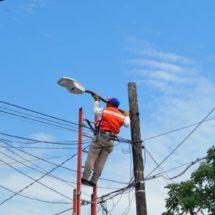 Sustituye Gobierno de Tuxtepec más de 7,500 luminarias