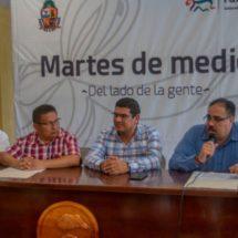 Modernización del Alumbrado Público de Tuxtepec presenta 86% de avance