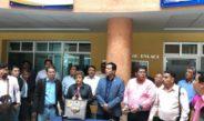 Acepta rector Eduardo Bautista reto del STEUABJO y acude a su asamblea