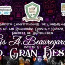 ESBLAB prepara desfile por día de muertos en Cosamaloapan